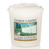 Yankee Candle Sampler Votivkerzen Clean Cotton