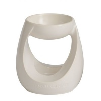 Duftlampe Turning Stone Tart Warmer weiss