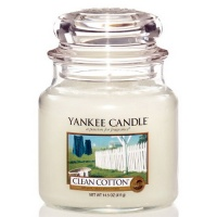 Yankee Candle Housewarmer 411 Gramm Clean Cotton