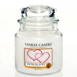 Yankee Candle Housewarmer 411 Gramm Snow in Love