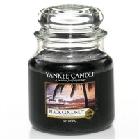 Yankee Candle Housewarmer 411 Gramm Black Coconut