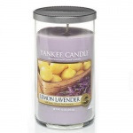 Yankee Candle Glass Pillar 340gramm Lemon Lavender