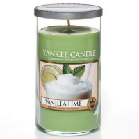 Yankee Candle Glass Pillar 340gramm Vanilla Lime