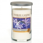 Yankee Candle Glass Pillar 340gramm Midnight Jasmin