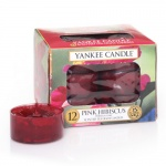 Yankee Candle Tea Lights Pink Hibiscus