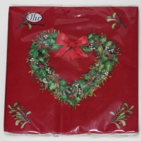 Papierservietten Enchanted Tree red Servietten