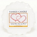 Yankee Candle Tart Wachs Snow in Love