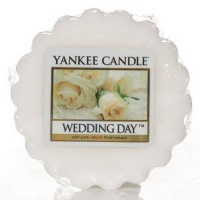 Yankee Candle Tart Wachs Wedding Day