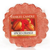Yankee Candle Tart Wachs Spiced Orange