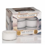 Yankee Candle Tea Lights Baby Powder