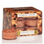 Yankee Candle Tea Lights Cinnamon Stick