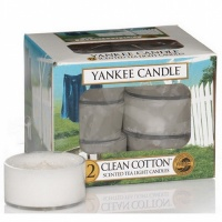 Yankee Candle Tea Lights Clean Cotton