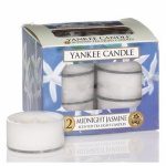 Yankee Candle Tea Lights Midnight Jasmin
