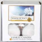 Yankee Candle Tea Lights Season of Peace