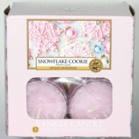 Yankee Candle Tea Lights Snowflake Cookie