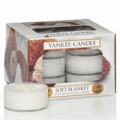 Yankee Candle Tea Lights Soft Blanket