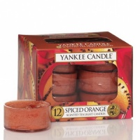 Yankee Candle Tea Lights Spiced Orange