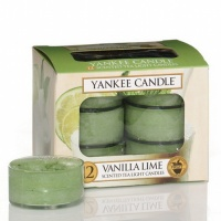 Yankee Candle Tea Lights Vanilla Lime