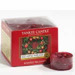 Yankee Candle Tea Lights Red Apple Wreath