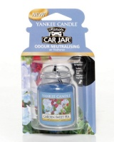 Yankee Candle Car Jar Ultimate Garden Sweet Pea