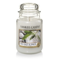 Yankee Candle Sea Salt & Sage Housewarmer 623 Gramm gross
