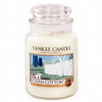 Yankee Candle Housewarmer 623 Gramm Clean Cotton