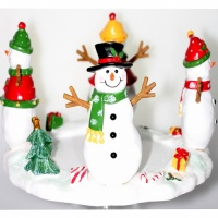 Jar Hugger Happy Snowman Yankee Candle Dekoration