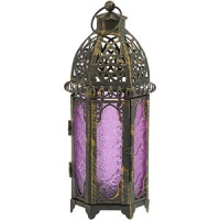 Sampler Holder Grand Bazaar Lantern Purple