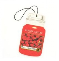 Yankee Candle Car Jar Classic Sweet Strawberry