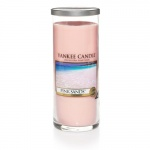 Yankee Candle Glass Pillar Pink Sands 566gramm