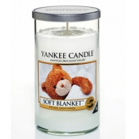 Yankee Candle Glass Pillar 340gramm Soft Blanket