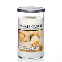 Yankee Candle Glass Pillar 340gramm Wedding Day
